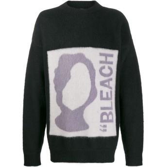 OAMC ブリーチ インターシャセーター - ブラック