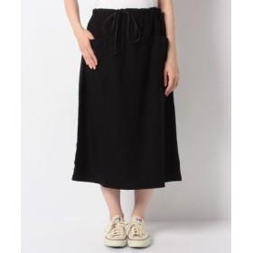 (MARcourt/マーコート)【mizuiro ind】patch pockets skirt/レディース BLACK