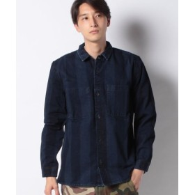(LEVI'S OUTLET/リーバイス アウトレット)LMC IN/OUT WORK SHIRT LMC GRANDE BLUE BL/メンズ ブルー