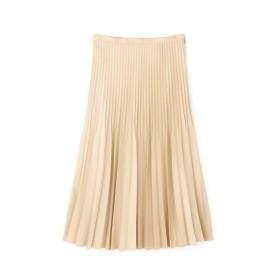 【公式/NATURAL BEAUTY BASIC】親子プリーツスカート/女性/スカート/ベージュ/サイズ:S/(表生地)ポリエステル 100%(裏生地)ポリエステル 100%