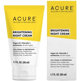 Acure Organics, Night Cream, Argan Stem Cell, 1.75 fl oz by Acure Organics