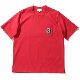 【40%OFF】 ビームス メン LACOSTE × BEAMS / 別注 ショートスリーブ Tシャツ メンズ ROUGE 2 【BEAMS MEN】 【セール開催中】