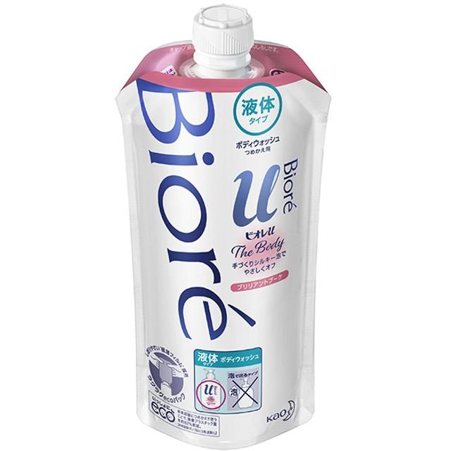 花王 ビオレu ザ ボディ 液体タイプ ブリリアントブーケの香り つめかえ用 340ml 石鹸・ボディソープ