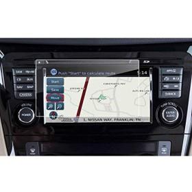 Ruiya Nissan Altima Maxima Murano Rogueルージュスポーツ車ナビゲーション保護フィルム、クリア強化ガラスHDと目を保護 7-Inch Navigation Screen Protector