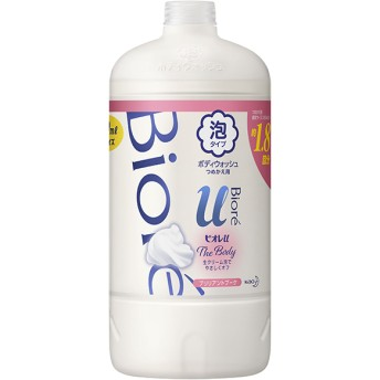 花王 ビオレu ザ ボディ 泡タイプ ブリリアントブーケの香り つめかえ用 800ml 石鹸・ボディソープ