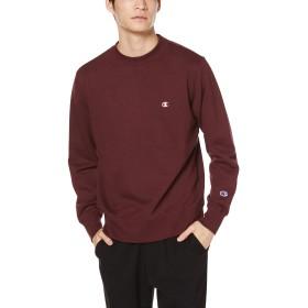 [チャンピオン] ワンポイントロゴクルーネックスウェットシャツ ベーシック C3-Q001 メンズ マルーン 日本 XL (日本サイズXL相当)