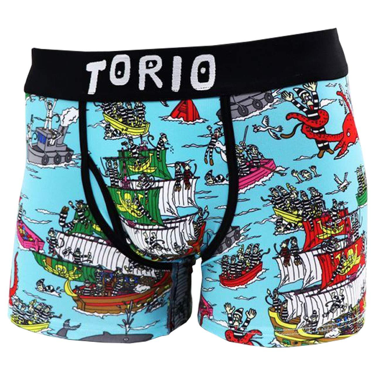 Torio トリオ ボクサーパンツ メンズ パイレーツ L 通販 Line