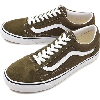 バンズ VANS オールドスクール OLD SKOOL ヴァンズ スニーカー 靴 BEECH カーキ系 [VN0A4BV5V7D FW19]【日本正規品】