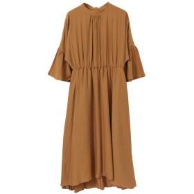 [アーバンリサーチ] ワンピース ドレス LA MAISON フレア袖ワンピース レディース キャメル one