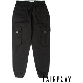 【FAIRPLAY BRAND/フェアプレイブランド】ZADIE ジョガーパンツ / BLACK