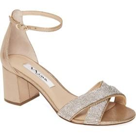 [ニナ] レディース サンダル Nolita Crystal Ankle Strap Sandal ([並行輸入品]