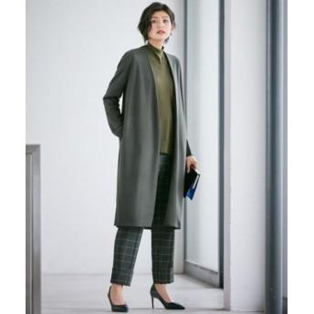 (ICB/ICB)Wool Milled Jersey ライトアウター/レディース カーキ系 送料無料