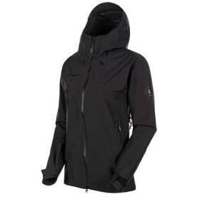 【ポイント15%】MAMMUT マムート Ayako Pro HS Hooded Jacket AF Women black 1010-27560
