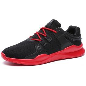 [SINOES] ランニング シューズ 通気 軽量 ジョギング マラソン シューズ スポーツ スニーカー メンズ