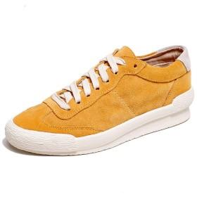 [UFISJ] 全3色 レディース スニーカー ラウンドトゥ フラットシューズ 厚底 レースアップ ローカット 厚底靴 ぺたんこ 韓風 森ガール カジュアルシューズ スポーツ 普段使い 学生靴 靴