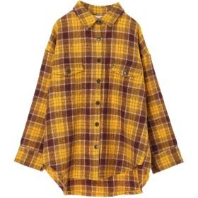 【6,000円(税込)以上のお買物で全国送料無料。】ブークレチェックシャツJK
