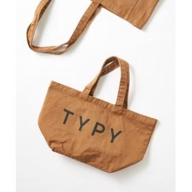 CIAOPANIC TYPY(チャオパニックティピー) ホーム TYPYランチトート ブラウン