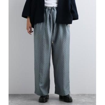 journal standard luxe 【PERO/ぺロ】 easy pants(silk) ブルー A 40