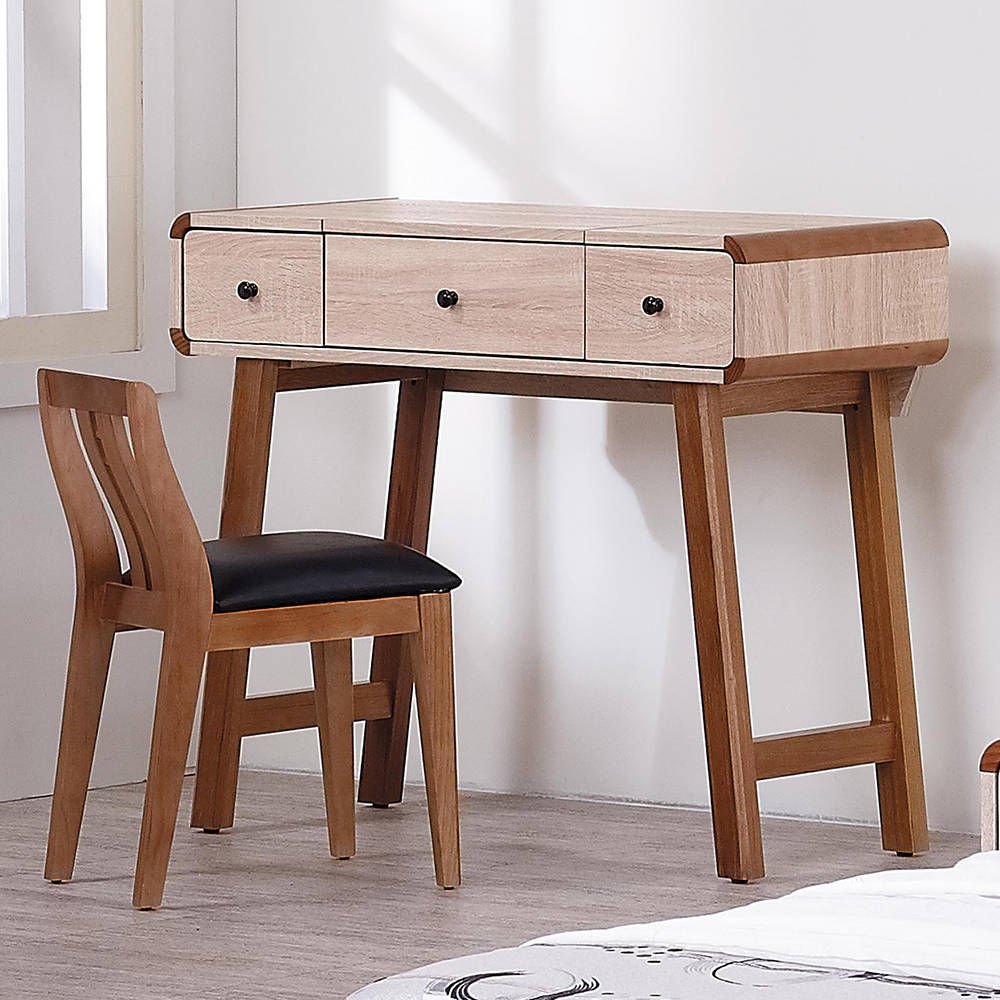 柏克可掀式鏡台組(含椅)/H&D東稻家居-消費滿3千送點數10%