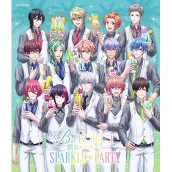 【Blu-ray】イベント B-PROJECT~絶頂*エモーション~ SPARKLE*PARTY 完全生産限定版