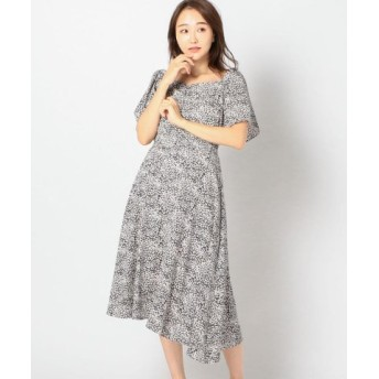 (MEW'S REFINED CLOTHES/ミューズ リファインド クローズ)2Way花柄ワンピース/レディース クロ