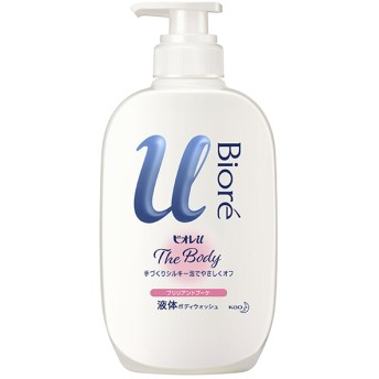花王 ビオレu ザ ボディ 液体タイプ ブリリアントブーケの香り ポンプ 480ml 石鹸・ボディソープ