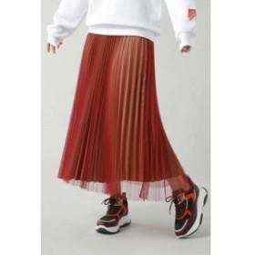ローズバッド(ROSE BUD)/チュールプリーツスカート