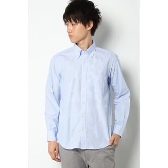 シャツ - ikka GP ロンドンストライプボタンダウンシャツ