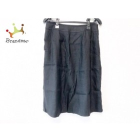 フランコフェラーロ FRANCO FERRARO スカート サイズ2 M レディース 美品 黒 新着 20190910