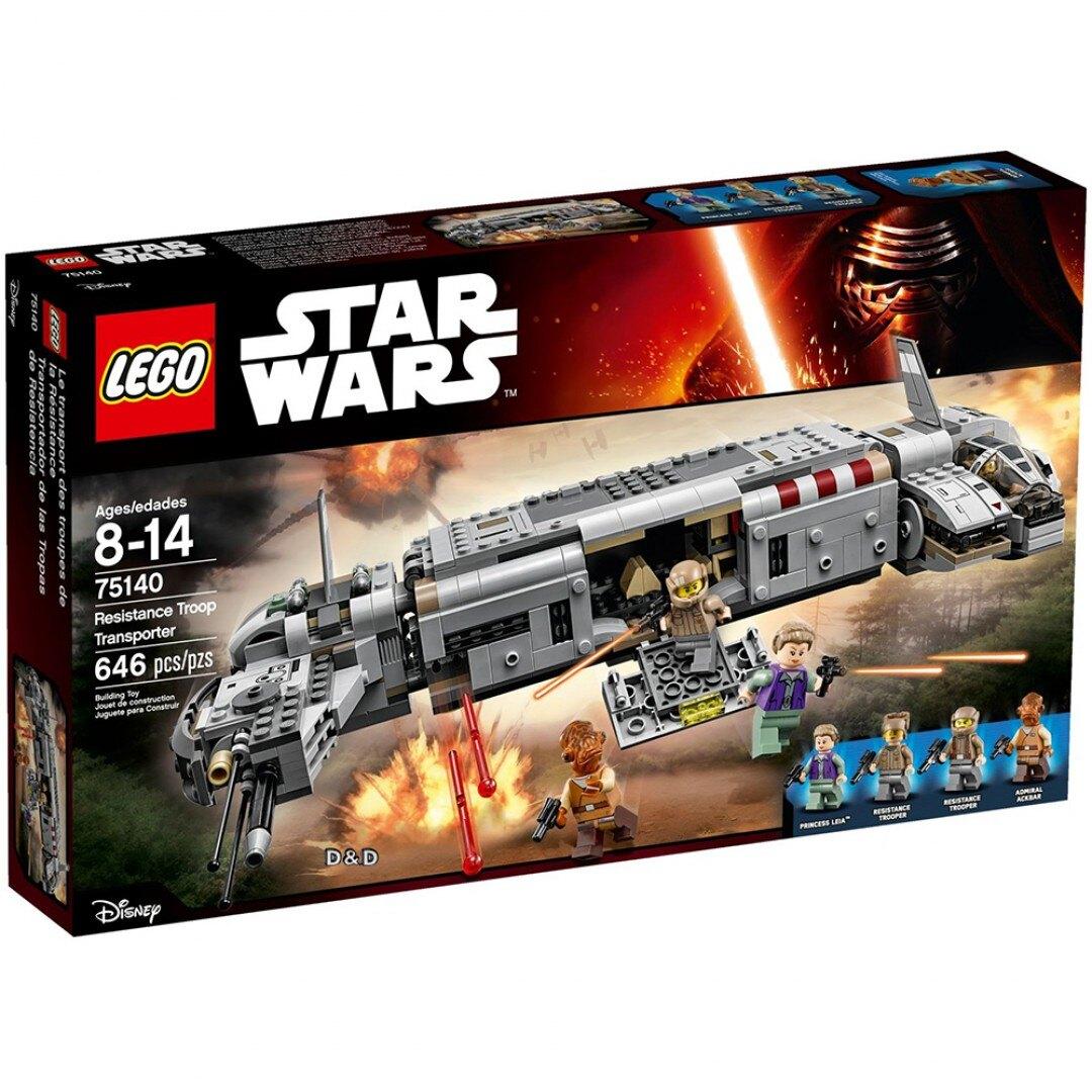 樂高LEGO 75140 STAR WARS 星際大戰系列 - Resistance Troop Transporter