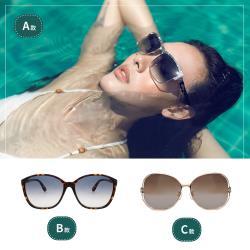 『趕快籌備妳的海島假期!!! 』 Siraya 太陽眼鏡  共三款