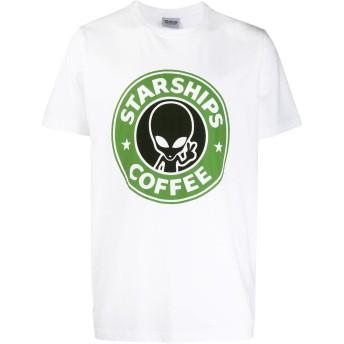 Sss World Corp プリント Tシャツ - ホワイト