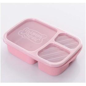 弁当箱(ふた付き)、単層のお弁当箱、お弁当箱、に適しています - 電子レンジ(複数の色が利用可能) (Color : D)