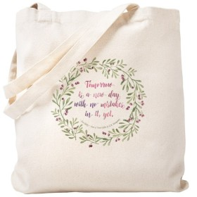 CafePress–Tote Bag–Anne of Green Gables Quote–ナチュラルキャンバストートバッグ、布ショッピングバッグ S ベージュ 1775720067DECC2