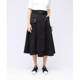 (LOVELESS/ラブレス)ワークポケット タスラン スカート/レディース ブラック