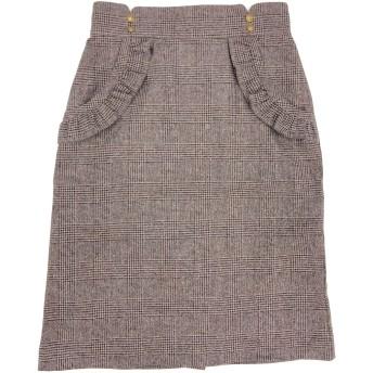 【6,000円(税込)以上のお買物で全国送料無料。】チェックタイトスカート