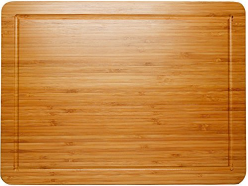Thick End Grain Bamboo Cutting Board Kitchen Butcher Carving Chopping Block
