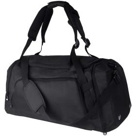 WANGXIAOLINYUNDONGBAO トラベルバッグ、携帯用、多機能、フィットネスバッグ、短距離用バッグ、スポーツ用バッグ、52×25×25cm(3色) (色 : 黒)