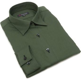 ブリックハウス シャツ 長袖 形態安定 レギュラー衿 レディース ウィメンズ BL019503AB14R10-70 グリーン S