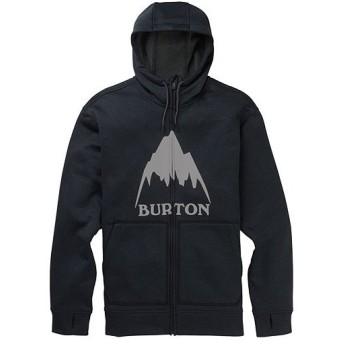 バートン(BURTON) メンズ フーディ Men's Oak Full-Zip Hoodie マウンテントゥルーブラックヘザー 16224108001 トップス パーカー フリース スノボ