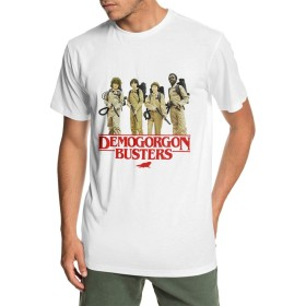 メンズ 丸襟 Tシャツ ストレンジャー・シングス Demogorgon Bustersデモゴルゴンバスターズ 半袖 Tシャツ メンズ おしゃれ 快適な 無地 軽い 柔らかい カジュアルtシャツ 綿 夏 シンプル 父の日 通勤 通学