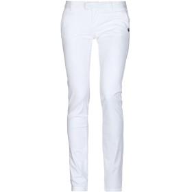 《セール開催中》BLAUER レディース パンツ ホワイト 28 コットン 97% / ポリウレタン 3%