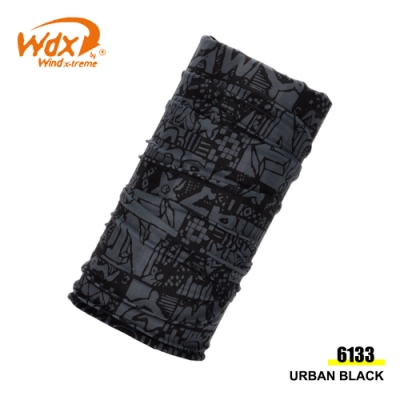 【Wind x-treme】多功能頭巾Cool Wind 6133URBAN BLACK