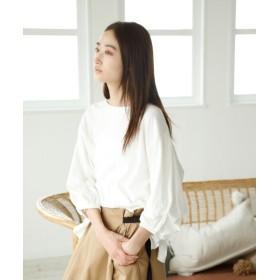 (niko and./ニコアンド)袖タック&スリットプルオーバー/ [.st](ドットエスティ)公式