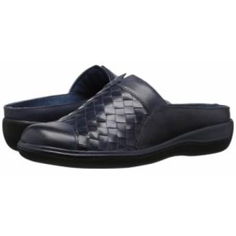 ソフトウォーク SoftWalk レディース サンダル・ミュール シューズ・靴 san marcos Navy Denim/Burnished Veg Leather