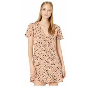ルーカ RVCA レディース ワンピース ワンピース・ドレス pebble button-up dress Brown