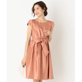 【オンワード】 any SiS(エニィスィス) ブライトシャンタン ドレス オレンジ 1 レディース 【送料無料】