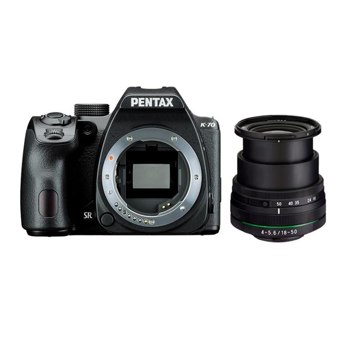 PENTAX K-70+DAL18-50 DC WR RE 防潑水單鏡組【公司貨】黑