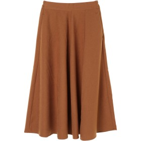 【6,000円(税込)以上のお買物で全国送料無料。】<WEB限定大きな・小さなサイズ>スキスカロングスカート