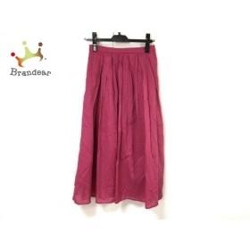 ジャスグリッティー JUSGLITTY ロングスカート サイズ2 M レディース 美品 ピンク 新着 20190911